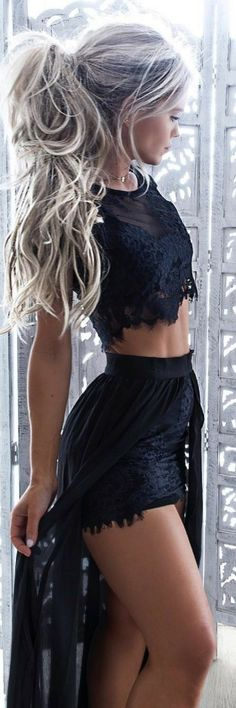 Black Ruby Set - Summer Outfit Idea byHilde Osland https://www.ecstasymodels.blog/2017/07/02/summer-outfit-idea-by-hilde-osland-2/?utm_campaign=coschedule&utm_source=pinterest&utm_medium=Ecstasy%20Models%20-%20Womens%20Fashion%20and%20Streetstyle&utm_content=Black%20Ruby%20Set%20-%20Summer%20Outfit%20Idea%20by%C2%A0Hilde%20Osland