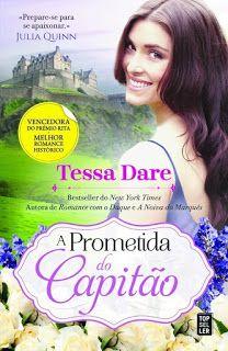 Manta de Histórias: A Prometida do Capitão de Tessa Dare - Novidade Edição Portuguesa