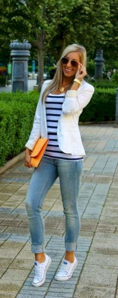 Breathtaking 77 Simple and Charming Outfits Ideas with Converse from www.fashionetter....