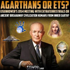 Agarthans or ETs? | Eisenhower's 1954 Meeting With Extraterrestrials or Ancient Breakaway Civilization Humans From Inner Earth? | Stillness in the Storm