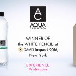 アクアカルパチカの「水純度キャンペーン」がD&ADインパクトの部門賞を獲得