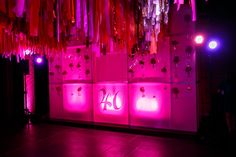 Luxe, Colorful 40th Birthday Party at Dec on Dragon | Planning: DFW Events | Photography: Stephen Karlisch, Karlisch Studio