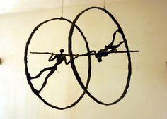 "Saatchi Online Artist: Ahmed Al Safi; Metal, 1999, Sculpture ""The Mill Of Nothingness"""
