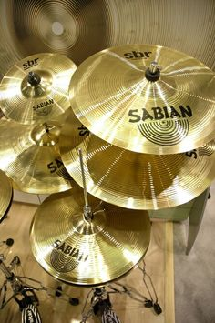 Although I'm partial to Zildjian, here's some Sabian Cymbals for some of you cymbal lovers.