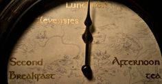Tolkien themed Hobbit clock! (Link comes with How-To directions!) So you know…