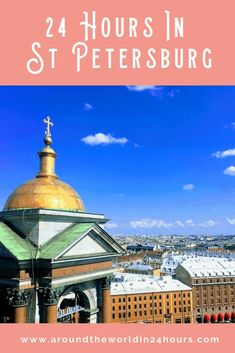 So you want to see a perfect St Petersburg Russia in a day with the Hermitage Museum? Join me for a day of fine art, river cruises, and vodka! #stpetersburg #russia