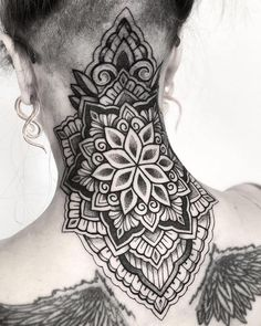 Ornamental - Mandala design by Alex (@raimundo_ramirez) done at Chronic Ink Tattoo - Toronto, Canada