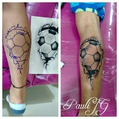 Tattoo soccer ball