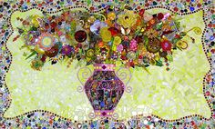 Flower Bouquet  RIP Suzan Germond. I will certainly miss her beautiful and whimsical creations