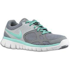 Nike Flex Run - Women's - Running - Shoes - Pure Platinum/Wolf Grey/White/Hot Punch