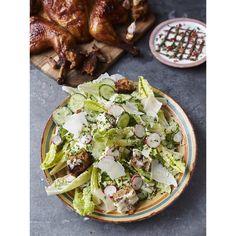 cæsarsalat jamie oliver