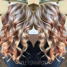 Blonde Highlights With Dark Mocha Brown Hair Color Hair