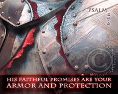 Armor and Protection - frameable print Psalm 91 4, Psalms, Sword Of The Spirit, Christian Artwork, Note Cards, Faith, Design, Index Cards, Christian Art