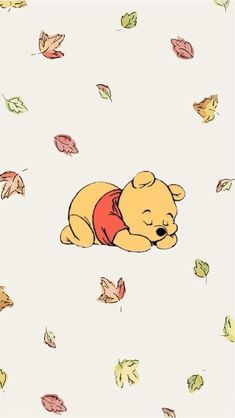Wallpaper Sky, Cute Fall Wallpaper, Disney Phone Wallpaper, Cartoon Wallpaper Iphone, Cute Patterns Wallpaper, Cute Cartoon Wallpapers, Beautiful Wallpaper, Winnie The Pooh Pictures, Cute Disney Pictures