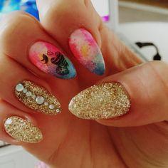 Nail art Bird