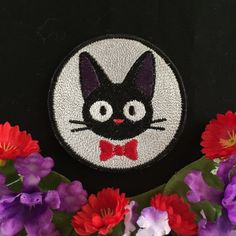 Hey, I found this really awesome Etsy listing at https://www.etsy.com/listing/488809179/kikis-delivery-service-jiji-charm-patch