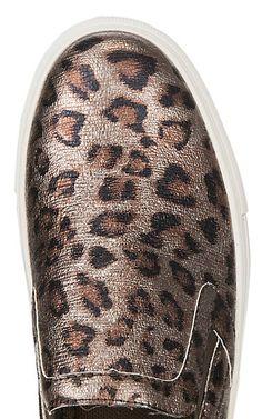 f705d32f3db4 Corkys Women s Jungle Faux Metallic Cheetah Print Sneakers. Cheetah ShoesLeopard  ...