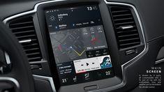 Sensus XC90 Volvo dashboard on Behance