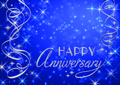 Preview image for product titled: Blue Sparkle Anniversary