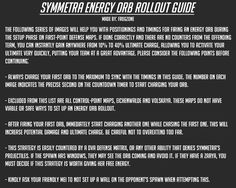 A guide for rolling out with your energy orb as Symmetra to gain quick ult charge on defense. : OverwatchUniversity