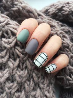 167 trendy matte black nails designs inspirations for ladies 66 Classy Nails, Stylish Nails, Simple Nails, Cute Acrylic Nails, Cute Nails, Pretty Nails, Nail Paint Shades, Magic Nails, Pretty Nail Designs