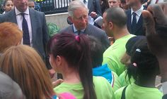 Prince Charles drops by