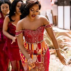 Lace Dress Styles, African Lace Dresses, Latest African Fashion Dresses, African Print Fashion, African Print Wedding Dress, African Wedding Attire, African Attire, African Wear, Kente Dress