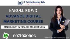 Online advance digital marketing course