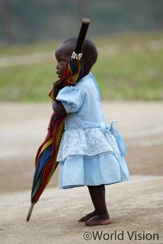 Rwanda 2005 ⓒ Karie Hamilton    Be a sponsor, she will take care of you :)