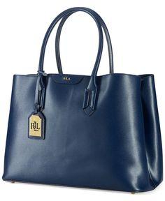 d84ce322cf Lauren Ralph Lauren Tate City Tote Tote Handbags