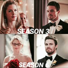 Oliver and Felicity parallel . . #Olicity #arrow #greenarrow #oliverqueen