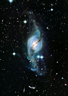 I am iron and I forge myself — newssciencedaily:   NGC 602 is a young, bright...