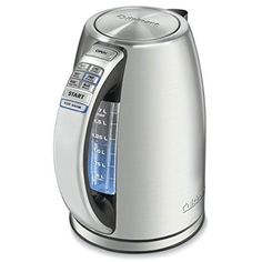#Cordless #Electric #Kettle #StainlessSteel #Cuisinart #Tea #Programmable #Coffee #Boil  #Cuisinart