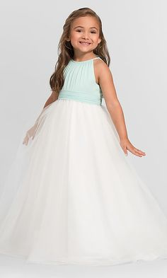 b255ae96c13 Long Bill Levkoff Flower Girl Dress 121401