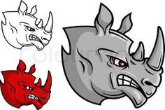 Image result for cartoon rhino pictures