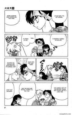 You could read the latest and hottest nuYasha 339 in MangaHere. Inuyasha Funny, Inuyasha Fan Art, Inuyasha And Sesshomaru, Kagome Higurashi, Manga Art, Manga Anime, Manga English, Manga Pages, Comics