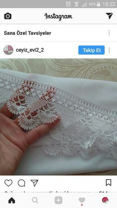 This Pin was discovered by Hüm Needle Tatting Tutorial, Summer Design, Needle Lace, Lace Making, Lace Collar, Knots, Diy And Crafts, Embroidery, How To Make