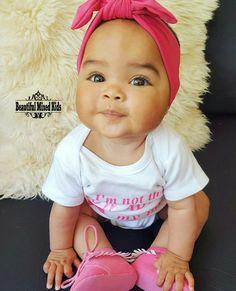 Zoey - 6 Months, • Antillean & Dutch ❤ FOLLOW @beautifulmixedkids on instagram WWW.STYLISHKIDSAPPAREL.COM