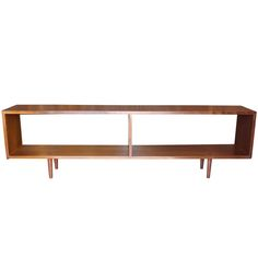 George Nakashima Dovetailed Bookcase Console - I have the perfect spot for this!