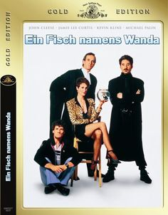 Ein Fisch namens Wanda (Gold Edition, 2 DVDs): Amazon.de: John Cleese, Jamie Lee Curtis, Kevin Kline,