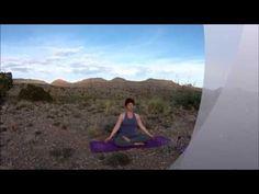 Desert Moon Salutation Yoga Practice
