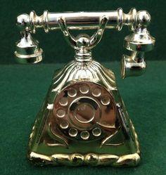 Vintage Avon Golden Telephone 'Occur' Eau de Cologne Bottle 30 ml - Half Full