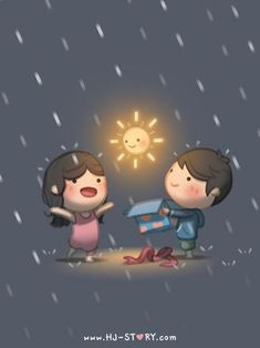 Love Facts : Picture Description HJ-Story :: Love is… sunshine on a rainy day – Love is… pinning this, www. Hj Story, Cute Couple Cartoon, Chibi Couple, Cute Cartoon, Cute Love Stories, Love Story, Cartoons Love, Love Facts, Love Images