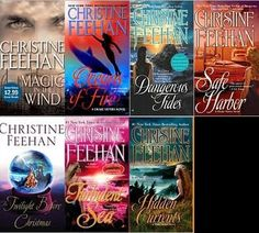 The Drake Sister Series by Christine Feehan is full of love, laughs and danger. I dig it.