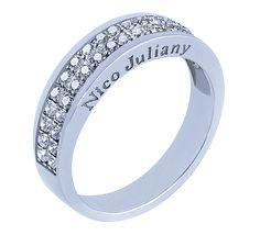 707a7cc6acff NICO JULIANY ОБРУЧАЛЬНЫЕ КОЛЬЦА Красивое обручальное кольцо с двойной  бриллиантовой дорожкой — положительный знак благополучной семейной