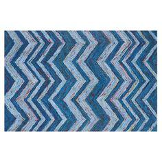 Safavieh Nantucket Bailey Chevron Rug, Blue