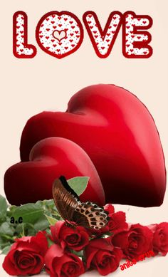 Love You Gif, Love You Images, Beautiful Love, Beautiful Flowers, Rita Hayward, Animated Heart, Rose Images, Love Rose, Eeyore