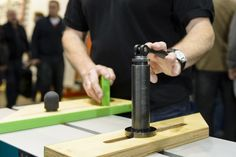 Auf der LIGNA in Hannover haben wir unser neues Spann- und Sägesystem für die Formatkreissäge vorgestellt.