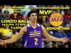 Lonzo Ball NBA Summer League MVP Highlights! Lakers 2017 Summer League C...
