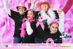 Sweet Dreams Photo Booth for American Cancer Society Making Strides Against Breast Cancer 5K Walk in Parsippany NJ